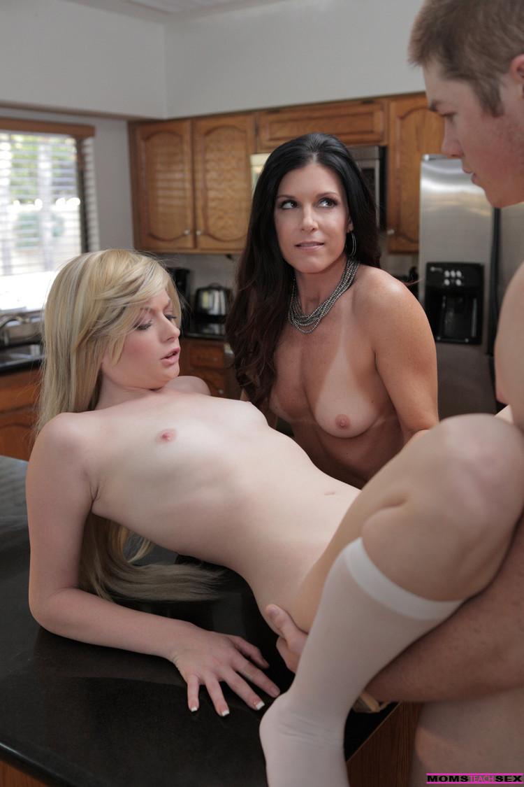 Moms teachers sex