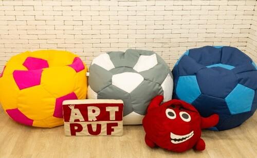 Кресло мешок футбольный мяч от компании Art-Puf