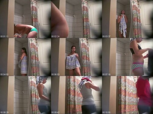 0791 Spy Nice Teen With Hairy Pussy In The Shower m - Nice Teen With Hairy Pussy In The Shower / SpyCam Sex Video