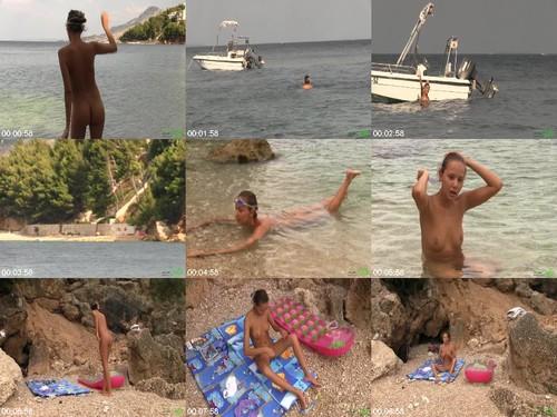 476 GalitsinTeens First Nude Swim  m - First Nude Swim