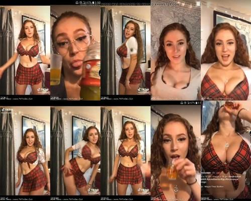 0376 TTnN Tik Tok Teen Girl Female  Red Head Or Light Brown Chick With Hard Nipp m - Tik Tok Teen Girl Female  Red Head Or Light Brown Chick With Hard Nipp [720p / 32.6 MB]