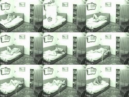 0979 Spy Blonde Girl Masturbating On The Bed m - Blonde Girl Masturbating On The Bed