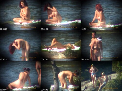 0482 NV CoccoZella Nudity   Eyeball Ladies By The Lake Clip 3 m - CoccoZella Nudity - Eyeball Ladies By The Lake Clip 3