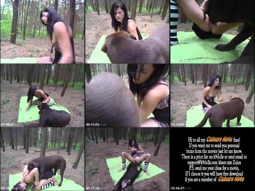 0644 HmZ Forest Animal Porn Action - Forest Animal Porn Action / Amateur ZooSex