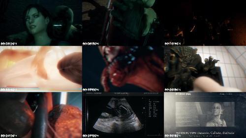 316 Nightmare   Code Valentine - Nightmare - Code Valentine - Bestiality Hentai Video