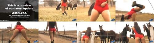 0077 FUN The Hot Lady Horse Whisperer   Amazing Body Latina 10  Ass m - The Hot Lady Horse Whisperer - Amazing Body Latina! 10  Ass!
