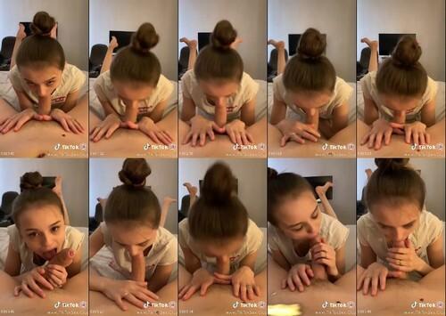 0273 PTTK Schoolgirl Sucks Cock While Parents Are Away Porn Tik Tok m - Schoolgirl Sucks Cock While Parents Are Away Porn Tik Tok [720p / 68 MB]