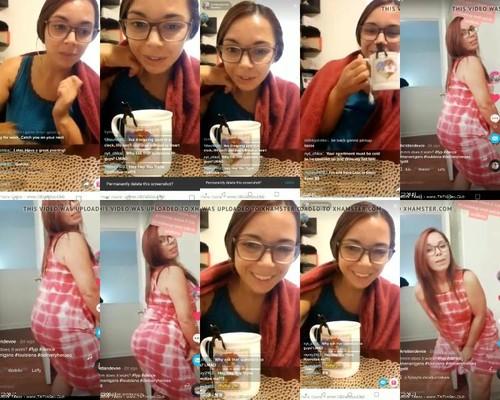 0275 TTnN Tik Tok Teen Girl Female  Nerdy Cute Fed Ex Chick m - Tik Tok Teen Girl Female  Nerdy Cute Fed Ex Chick / by TikTokTube.Online