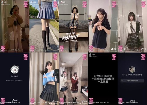 0172 AT Prettiest Girls In Short Skirts  School Uniform  14 m - Prettiest Girls In Short Skirts & School Uniform  14 / by TubeTikTok.Live