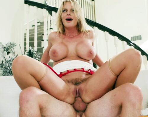 Rachael Cavalli - Busty Blonde Makes Him Bust A Nut
