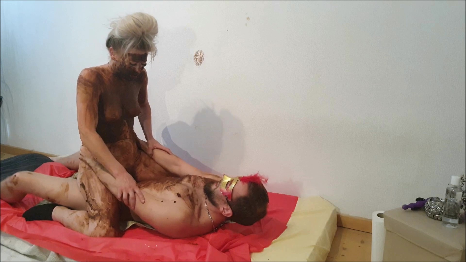 Versauteschnukkis - shit out of the pussy and fucked (3/3)