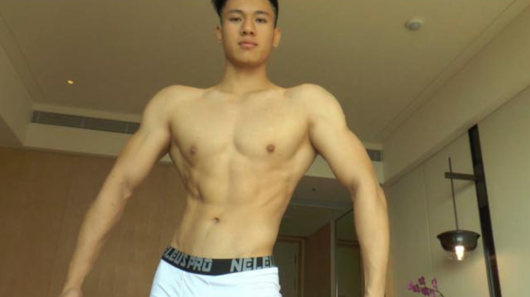 [Live Broadcast] Muscle Model Private Shot 肌肉男模私拍