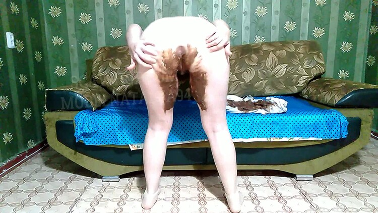 ModelNatalya94 - Olga got dirty colored leggings