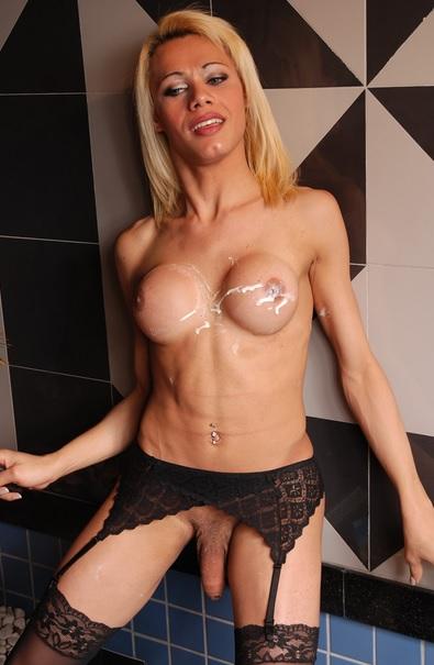 Sensual Slim Blonde