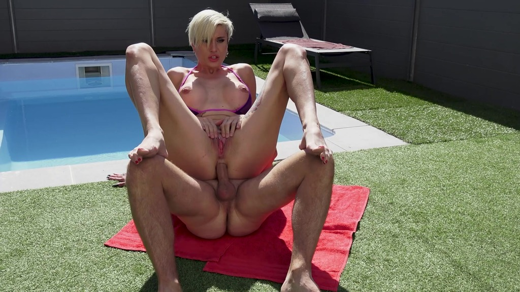 LegalPorno - Rick Angel Studio - MILF Tanya Virago GETS ASS DRILLED AT THE POOL RA025