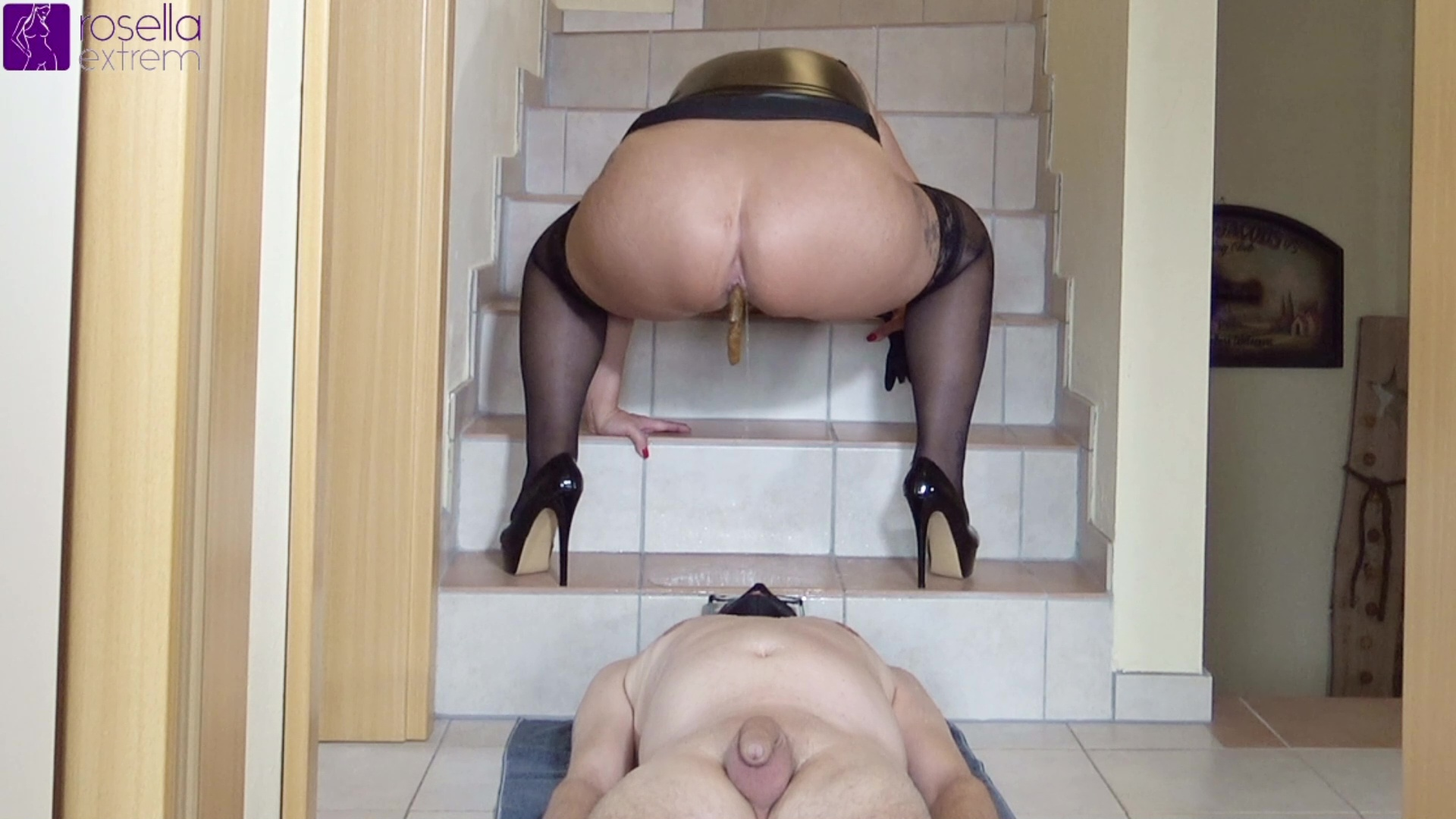 RosellaExtrem - Next slave meal on heels! Part 2