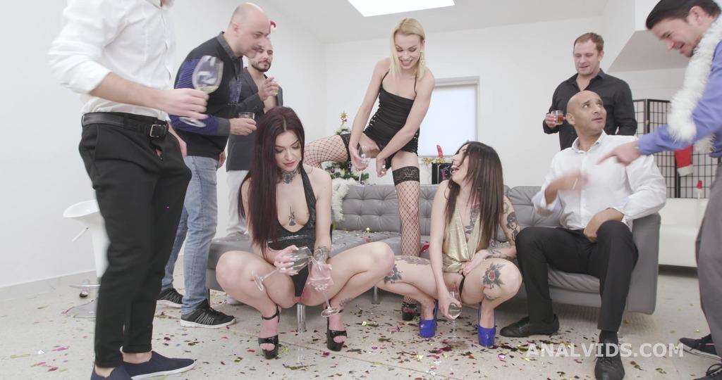 LegalPorno - Giorgio Grandi - New Year's PeEve 2020 #1 Tabitha Poison, Giada Sgh and Rebecca Sharon ATOGM, Gapes, DAP, Pee Drink & Squirting GIO1660
