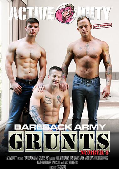 Bareback Army Grunts 8 (2020)