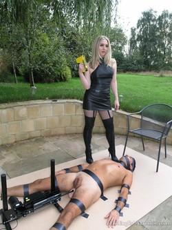 Putting men in bondage women Over two