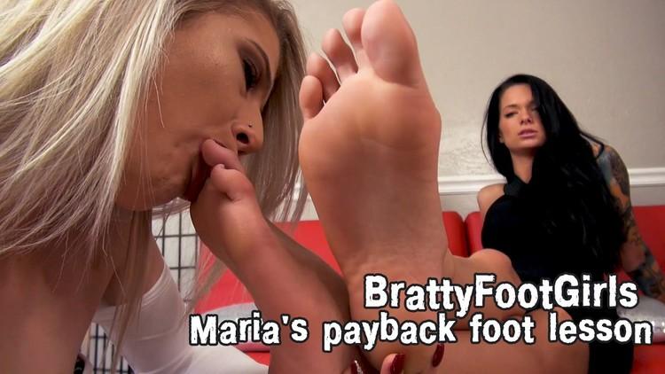 Lesbian Friend Feet Worship