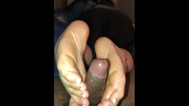 Lube My Feet Up And Get Ready For An Amazing Footjob Joi