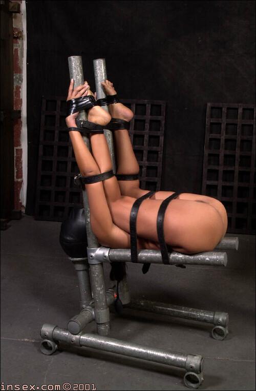 Chair bondage fuck