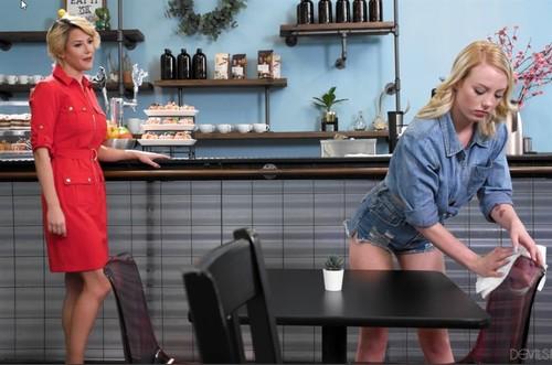 Dixie Lynn & Kit Mercer - Lesbian Cougars On The Prowl 1080p