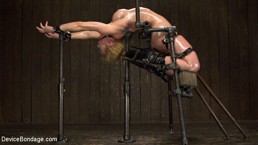 Encasement bondage contortion