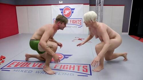 Fights - Helena Locke vs Nathan Bronson - Mixed Wrestling