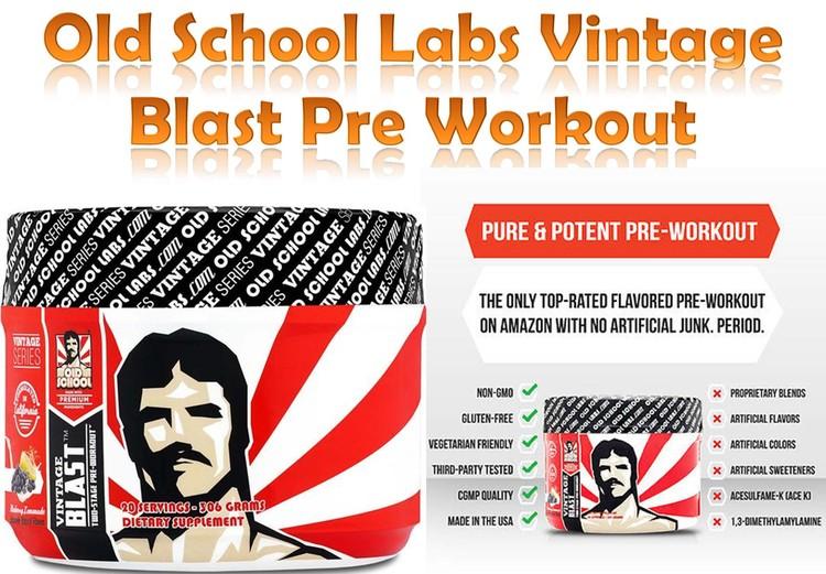 Old School Labs Vintage Blast Pre-Workout