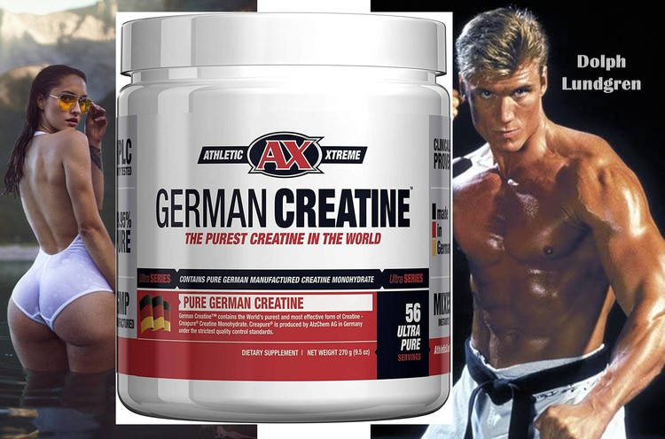 German Creatine by Elemental Nutrition