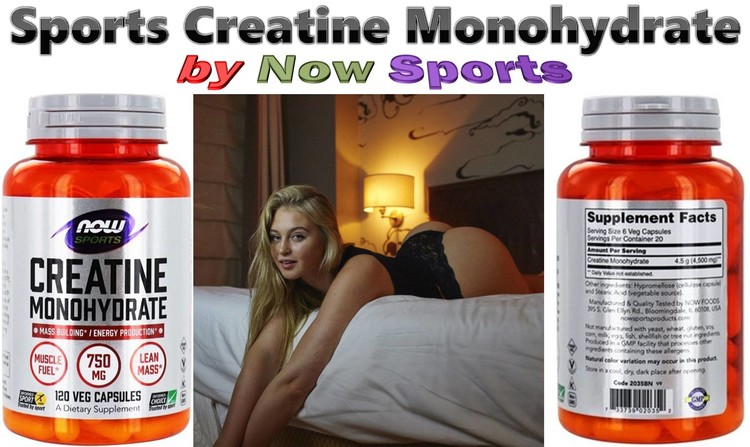 Sports Creatine Monohydrate by Now Sports
