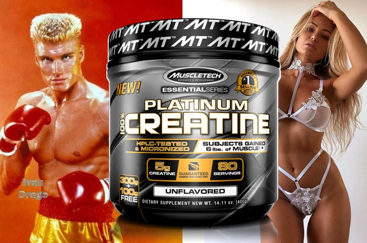 Platinum Creatine by Muscletech