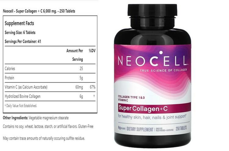Super Collagen + C Tablets