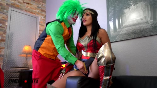 Wonder Woman Mesmerized by The Joker – Alina Belle